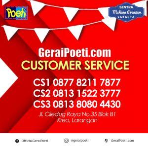 Customer Service GeraiPoeti