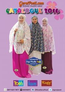 Katalog Baju Muslim Anak dan Dewasa GeraiPoeti Collection 2016 page 1