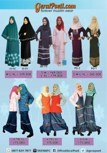 Katalog Baju Muslim Anak dan Dewasa GeraiPoeti Collection 2016 page 5