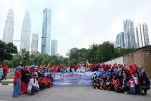 dibelakang menara kembar malaysia-trip reward poeti