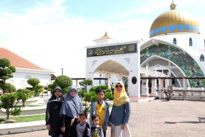 singgah di mesjid Melaka-trip reward poeti