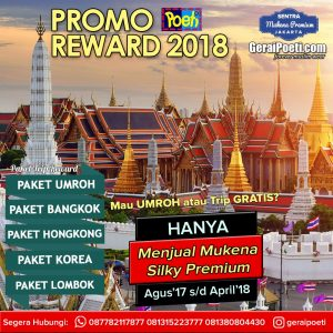 Paket Tour Reward Poeti ke Bangkok