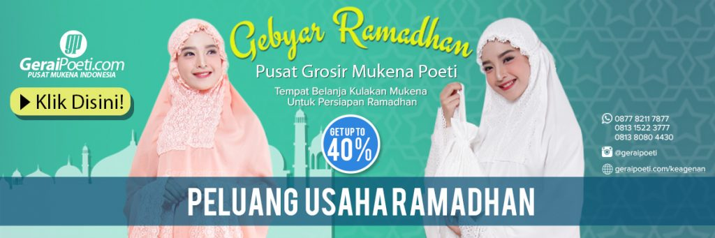 gebyar ramadhan geraipoeti - peluang usaha ramadhan