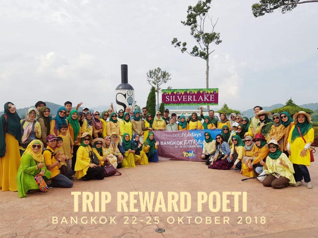 Trip Reward Poeti - Bangkok 2018
