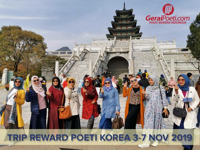 Poeti MengunjungiGYEONGBOK Palace