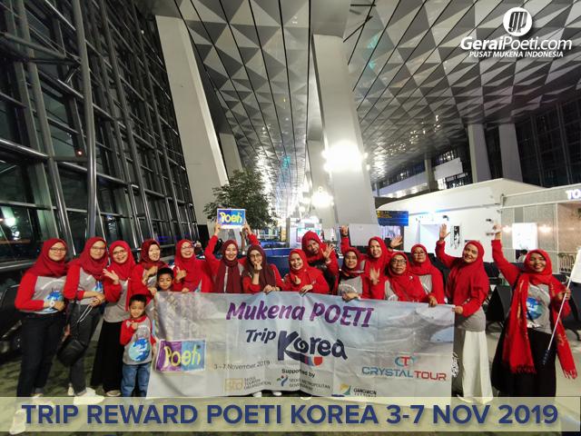 Keberangkatan Grup Poeti di Bandara Soetta