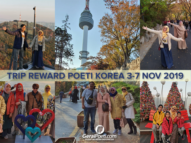 Poeti Mengunjungi N SEOUL Tower & Love Lock