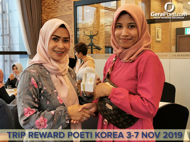 Pemenang Lomba Foto Trip berhadiah Logam Mulia