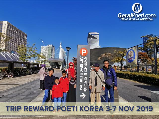 Poeti Mengunjungi SONGDO Central Park