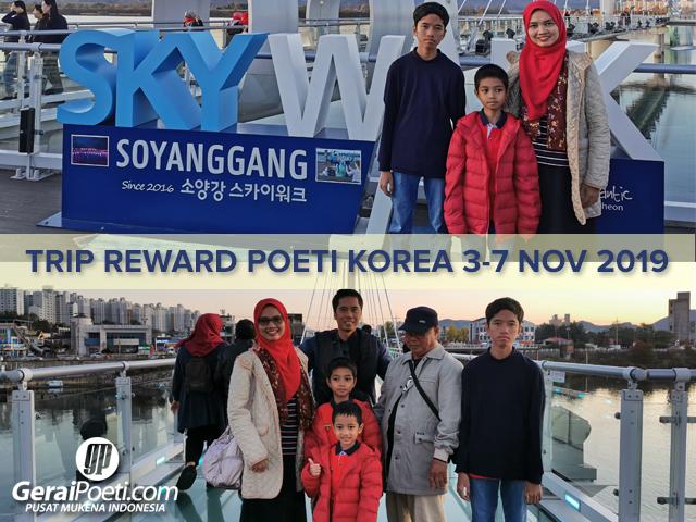 Poeti mengunjungi SOYANGGANG SKYWALK